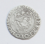 Грош 1538г, Сигизмунд I Старый , г. Гданьск, фото №2