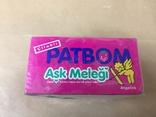 Запечатанный блок жвачек PatBom ,1992г оригинал, фото №3