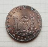Мексика. 8 реалов 1762 г. Копия, фото №2
