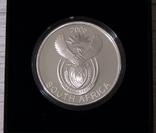 Южная Африка. ДИКАЯ ПРИРОДА - ГИЕНЫ - серебро 76,25 грамм - полный комплект, РЕДКАЯ, фото №4