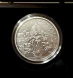 День Ощадности - серебро, 5 , унция.  - тираж всего 500 штук - полный комплект, фото №2