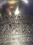 Ваза, серебро, 213 грамм, Индия, фото №9