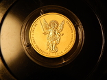 5 гривен Архистратиг Михаил 2013 года, золото 7,78 грамм, 999,9, фото №2
