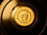 5 гривен Архистратиг Михаил 2013 года, золото 7,78 грамм, 999,9, фото №3