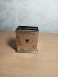 Коробка шкатулка під карти вага 144 грама, фото №4