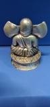 Фигурка божества из серебра, фото №3