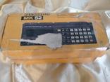 Электроника МК 52, коробка , руководство по эксплуатации, фото №6