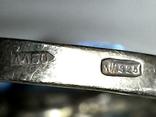 Набор серебряный 925 пробы цирконий, фото №5