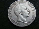 5 марок 1902 А Пруссия, фото №3