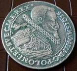 1 таляр Польща (1)614 р. (дуже високоякісна копія) не магнітна, фото №2