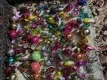 Ялинкові іграшки 150 шт елочные игрушки СССР, фото №4