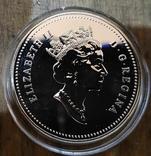 Канада 1 доллар 1991 г. Серебро. Фронтенак. Корабль, фото №3