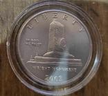 США 50 центов 2003 г. 100-летие первого полета. Национальный мемориал братьев Райт., фото №3