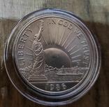 США 50 центов 1986 г Статуя Свободы., фото №2