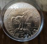 1 доллар 1971 г. Серебро, фото №3