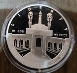 США 1 доллар 1984 г. Серебро., фото №3