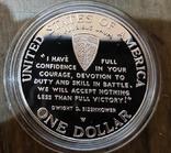 США 1 доллар 1993 г. D-Day, Военное дело, Вторая мировая. Пруф, фото №3