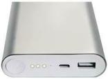 Повер банк Xiaomi 20800 mAh Аккумулятор СЕРЕБРО., фото №5