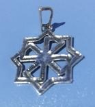 Серебрянный кулон 925-й пробы, фото №3