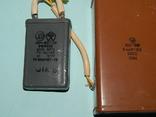 Конденсаторы разные с аппаратурой СССР, фото №6