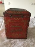 Царська коробка для чаю Кузнецовь (Якоря), фото №2