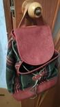 Рюкзак в клетку, фото №2