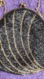 Сумочка з чорним бісером, фото №4