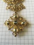 Старинное украшение, золото и алмазы, фото №3