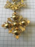 Старинное украшение, золото и алмазы, фото №4