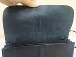 Сумочка из плотной кожи с плечевым ремешком. 24х15х7см, фото №8