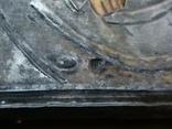 Икона Пресвятая  Богородица праворучица , в серебряном окладе, фото №3