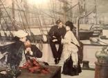 Капитан и помощник, Джеймс Тиссо. Репродукция, фото №3