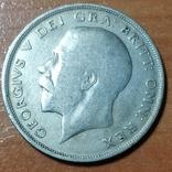 Пол-кроны Британия 1920 год,Георг 5-й, фото №2