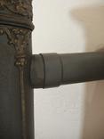 """Пічка ор. 1850 року з гербом заводу """"Залізний молот"""" графа Шенборна. Буржуйка., фото №5"""