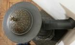 """Пічка ор. 1850 року з гербом заводу """"Залізний молот"""" графа Шенборна. Буржуйка., фото №6"""