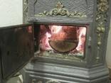 """Пічка ор. 1850 року з гербом заводу """"Залізний молот"""" графа Шенборна. Буржуйка., фото №13"""