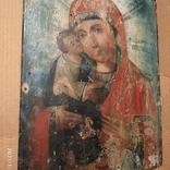 Икона Пресвятой Богородицы матери  божьей,19 век., фото №3