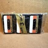 Аудиокассеты запечатанные 3 шт., фото №2