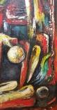 """Одесса, Торунян Саша""""Скорбь"""", х.м.43*70см, 2000г, фото №10"""