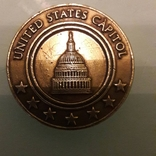 Медаль жетон Капитолий США, фото №2