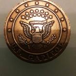 Медаль жетон Капитолий США, фото №3