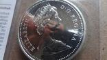 1 доллар 1976 Канада Открытие Национальной библиотеки Сертификат серебро, фото №7