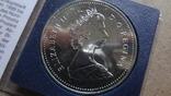 1 доллар 1982 Канада Реджайна Сертификат серебро, фото №6