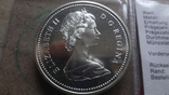 1 доллар 1971 Канада Британская Колумбия Сертификат серебро, фото №7