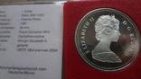 1 доллар 1981 Канада Трансконтинентальная железная дорога Сертификат серебро, фото №6