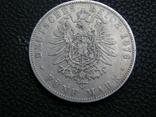 5 марок 1876 J Гамбург, фото №6
