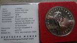1 доллар 1978 Канада Олимпиада Сертификат серебро, фото №5