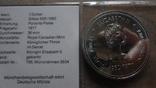 1 доллар 1977 Канада 5 лет коронации Елизаветы II Сертификат серебро, фото №5