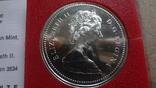 1 доллар 1975  Канада Калгери  Сертификат серебро, фото №6