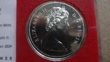 1 доллар 1975  Канада Калгери  Сертификат серебро, фото №7